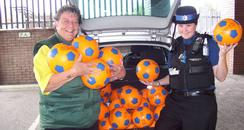 A Street Warden and PCSO in Swale
