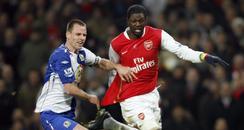 arsenal footballer Ennanuel Adebayor