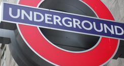 a tube station sign