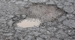 A pothole (in Kent)
