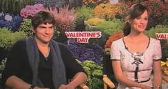 Ashton Kutcher and Jennifer Garner