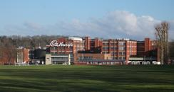 The Cadbury factory in Keynsham