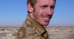 MOD picture of Corporal Sean reeve in Afghanistan