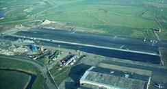 lydd airport aerial shot