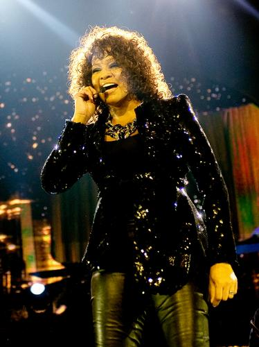 Whitney Houston at 02 Arena