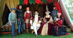 Hever Castle Tudor