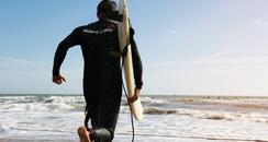 Surfer at Boscombe