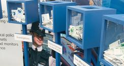 Kent Police moneyboxes