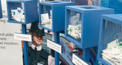 Kent Police moneyboxes