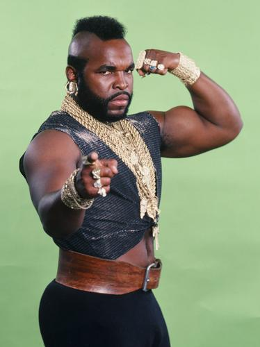 B.A Baracus - The A Team then and now - Heart