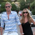 Peter Crouch and Abbey Clancy
