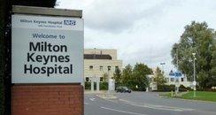 MK Hospital entrance
