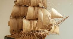 HMS Victory sculpture