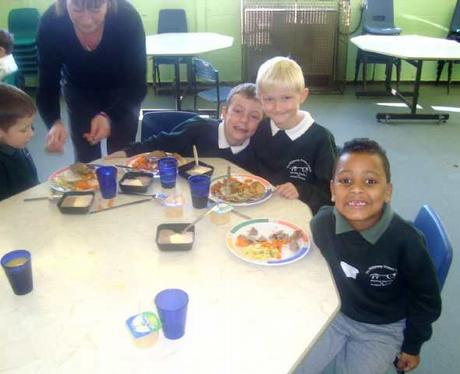 School Dinners at Ridgeway School