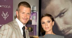 david and victoria beckham Fragrance Launch