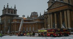 Blenheim Palace Roof Fire