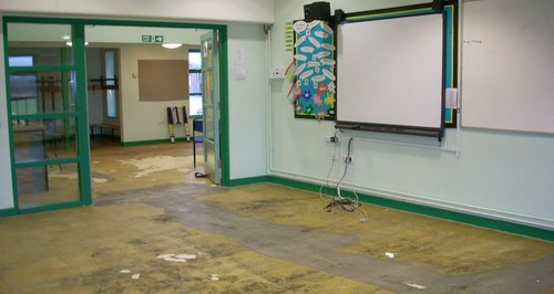 Wavendon Gate School Floods