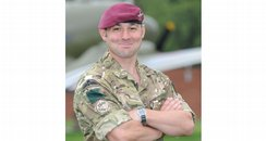 Company Sergeant Major Colin Beckett