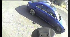 Car used in Sainsbury robbery