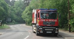 Bracknell forest fires
