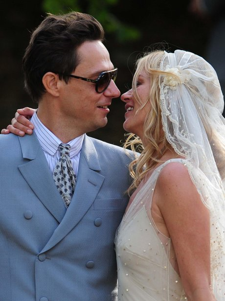 Kate Moss and Jamie Hince wedding picture