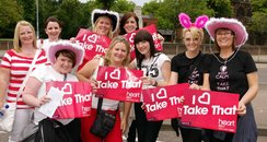 Take That at Villa Park Monday
