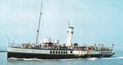 Kent Paddle steamer