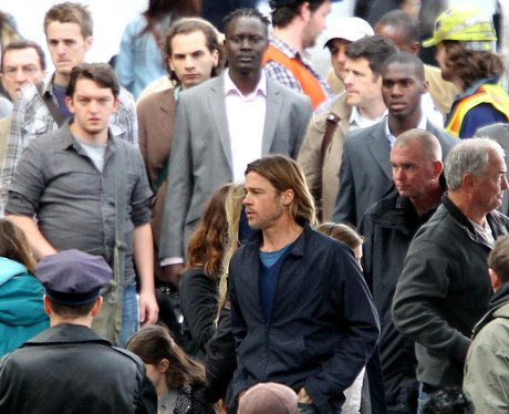 world war z filming