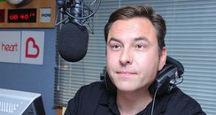 David Walliams in the Studio