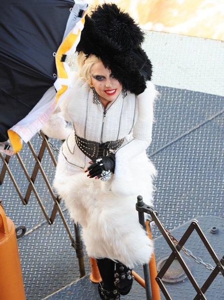 Lady Gaga's Photoshoot