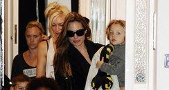 Angelina Jolie with Gwen Stefani