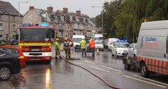 gas leak in Victoria Road, Swanage