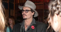 Johnny Depp at the Oxford Union