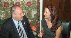 Harlow MP Robert Halfon & Heart's Annie Joyce