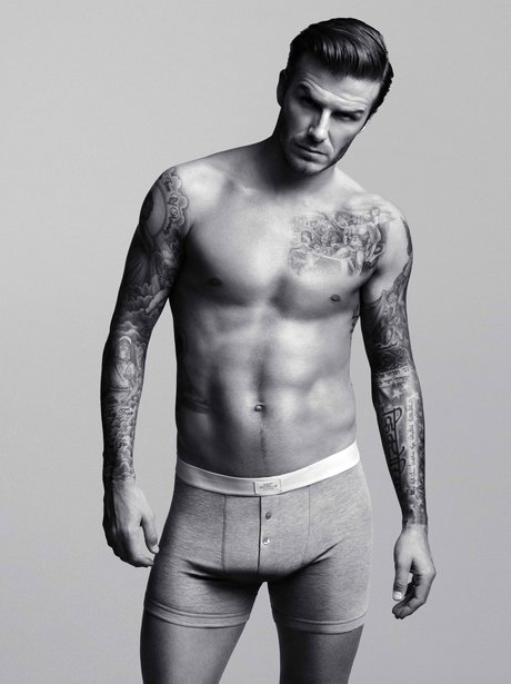 David Beckhams models H&M