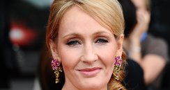 JK Rowling arrives for a film premiere