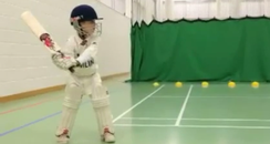 Cricket prodigy.