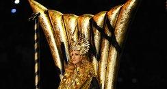Madonna Super Bowl throne