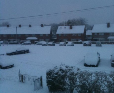 Hertfordshire snow