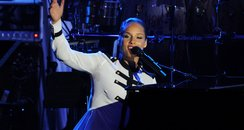 Alicia Keys pre Grammy Awards 2012