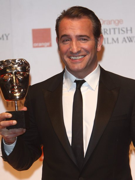 Baftas 2012 the winners heart for Jean dujardin bafta