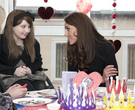 Kate Middleton visits Liverpool