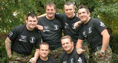 Captain Matt Muller and fellow soldiers