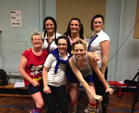 Heart Hijacks Chic Fitness Zumba in Rhyl