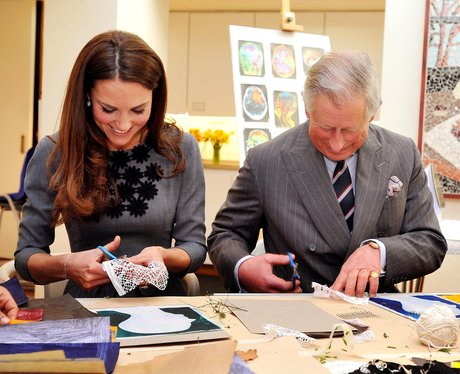 The Prince of Wales and the Duchess of Cambridge