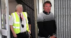 Mark McGovern arrives back in UK