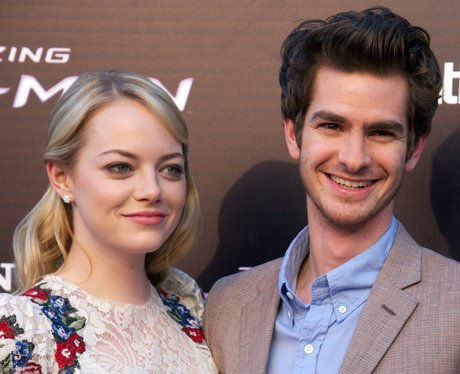 Emma Stone and Andrew Garfield attend film premier