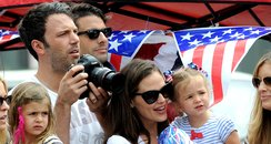Ben Affleck, Jennifer Garner and daughter Seraphin