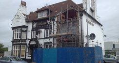 Crash into pub in Chester