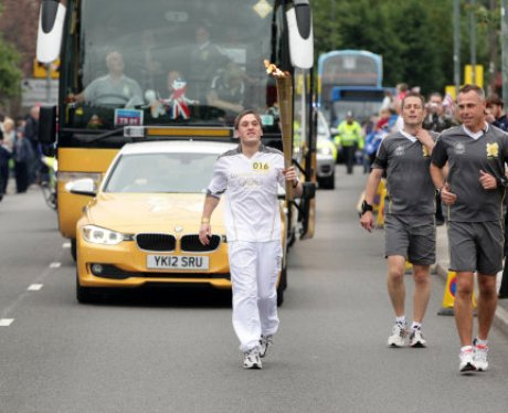 The Olympic Torch Relay Day 45: Leaving Coventry